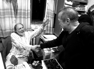 «Реальный театр»-2009. О.Лоевский иЛ.Окунев. Фото П. Зобнина