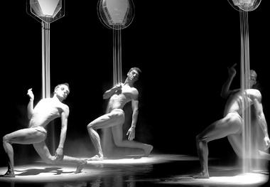 «Сепия». Сцена изспектакля. Театр «Провинциальные танцы» (Екатеринбург). Фото предоставлено Международным центром танца иперформанса «ЦЕХ»
