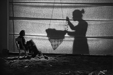 «Subito Forte». Сцена изспектакля. Театр «Liquid Theatre» (Москва). Фото предоставлено Международным центром танца иперформанса «ЦЕХ»