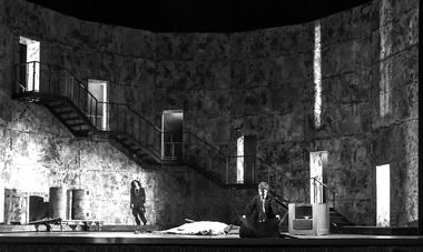 Сцена изспектакля. Фото С. Гутника