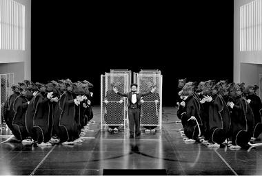 «Лоэнгрин». Сцена изспектакля. Фото E. Nawrath ©Bayreuther Festspiele