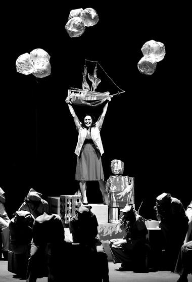 «Летучий голландец». Сцена изспектакля. Фото E. Nawrath ©Bayreuther Festspiele