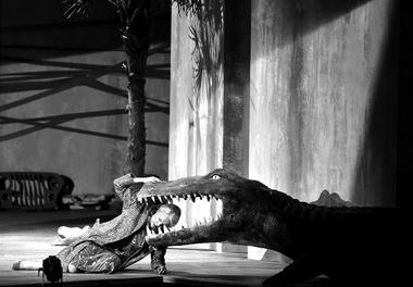 С. фон Оттер (Корнелия). «Юлий Цезарь вЕгипте». Фото H.-J. Michel