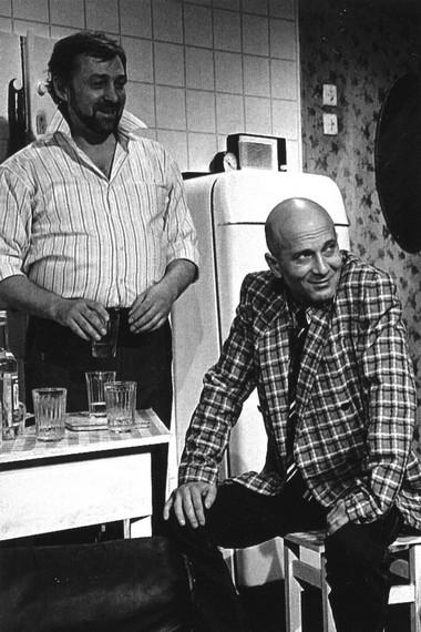 С.Новиков (Бэмс), Н.Соколов (Прокоп). «Взрослая дочь молодого человека».  Фото изархива театра