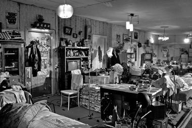«Долгая жизнь», режиссер А.Херманис. Сцена изспектакля.  ФотоВ.Луповского