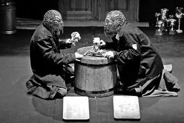 «Борис Годунов», режиссер Н.Коляда. Сцена изспектакля.  Фото В. Луповского