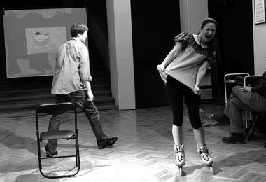 «Ноктюрн», режиссер К.Гинкас. Сцена изспектакля.  Фото изархива театра