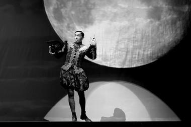 В.Мамышев-Монро (Полоний). «Полоний»,  режиссер С.Випзон. Фото Д. Разумниковой