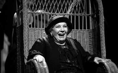 Э.Зиганшина (Бабушка). «Литургия Zero».  Фото П. Юринова