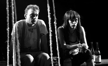 А.Кудренко (Второй мужчина), О.Базилевич (Вторая женщина).  Фото В. Васильеваа