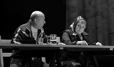 Е.Смирнов (Жидков), Т.Прокопьева (Пахомова).  Фото А. Кудрявцева