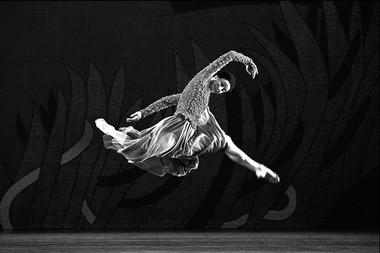 «Жизель». Сцена изспектакля.  Фото В. Луповского