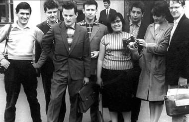 Операторы, набор 1957г. ВГИК.  Фото изархива режиссера