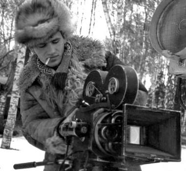 В.Виноградов. Первое кино воВГИКе. 1960г.  Фото изархива режиссера