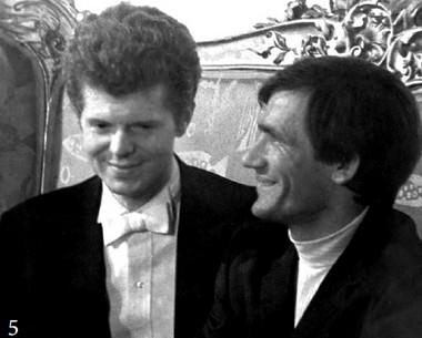 СВаном Клиберном наЛенинградском телевидении. 1972г.  Фото изархива режиссера