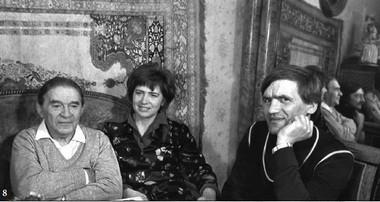 СЛ. Утесовым иЕ.Шмаковой. 1989г.  Фото изархива режиссера