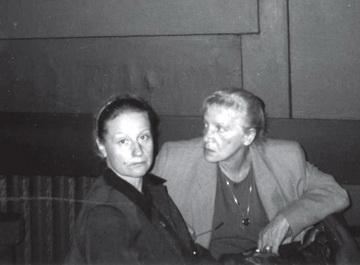 М.Коржель, Н. Крымова.1998—1999гг. Фото изархива автора