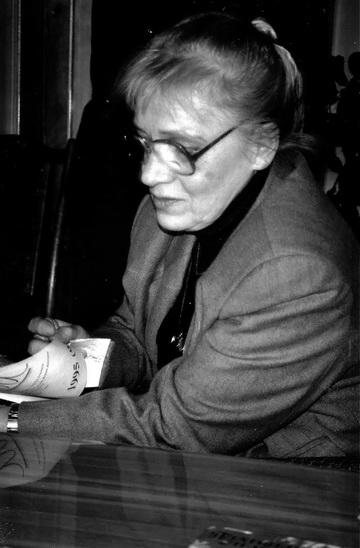 Н.Крымова вНижнем Новгороде. 1995г. Фото изархива автора