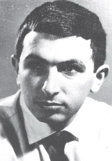 К.Гинкас-студент. Фото изархива редакции