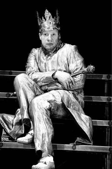 Д.Слингер (Ричард III). Фото E. Kurttz изархива театра