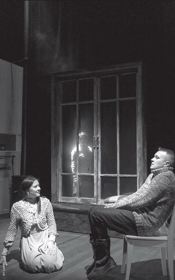 Сцена изспектакля. Театр им. Г.Камала. Фото Ф. Гарифуллина