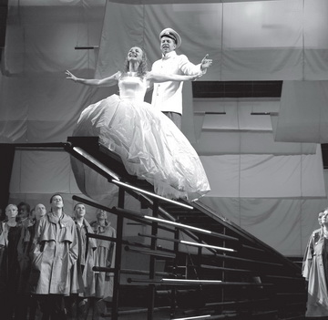 Сцена изспектакля. Театр-Театр (Пермь). Фото А. Гущина