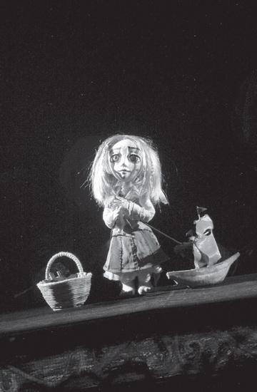 Сцена изспектакля «Пристань алых грез». Театр «Аистенок» (Иркутск). Фото изархива театра