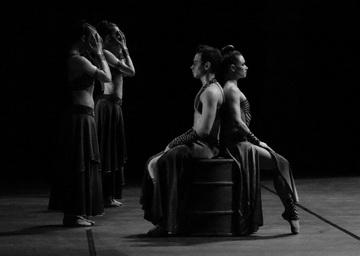 Сцена изспектакля. Новосибирский театр оперы ибалета. Фото О. Чесновой