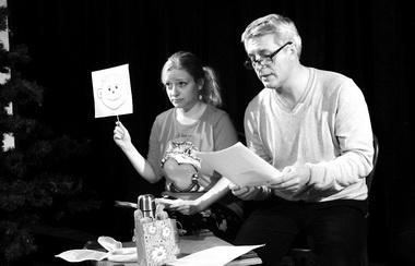 «Как мыспапой ходили влес заелкой» нафестивале «Маленькая премьера». Фото С. Кочериной