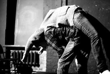Репетиция перед выступлением вТеатре. doc. Март 2012г. Фото С. Ботевой