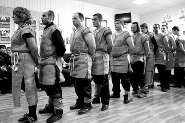 Сцена изспектакля. Фото предоставлено пресс-службой ГУФСИН России поРостовской области