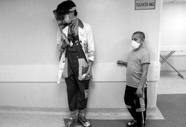 Доктор Макс заработой. Фото В. Вяткина
