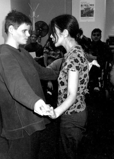Нарепетиции. 2004г. Фото изархива Е.Шифферс