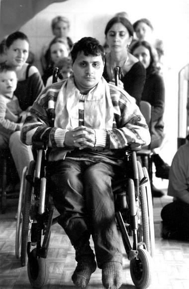 Ильгар Наджафов. 2002г. Фото изархива Е.Шифферс