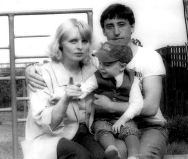 Семья Делей: Ирина Владимировна, Илья иВладимир Фердинандович. Фото семейного архива
