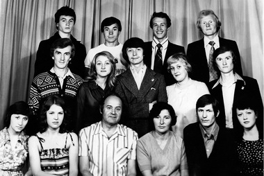 Коми-пермяцкая студия. 1981г. Фото изархива Ю.Васильева
