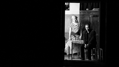А.Байбородина (Люся), Е.Аёшин (Коля). Фото С. Примакова