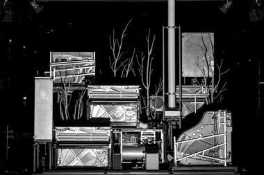 «Вещи Штифтера». Сцена изспектакля. Фото W. Bergmann