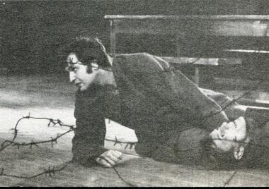 А.Мирочник (Рыбак) иВ.Фролов (Сотников). «Сотников». Фото изархива Е.Соловьёвой