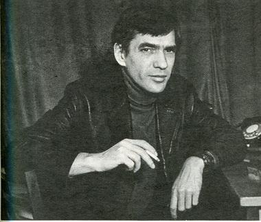 Главный режиссёр Молодёжного театра В.Малыщицкий. Фото Ю. Богатырёва