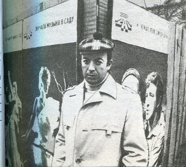 Главный режиссер Молодежного театра Е.Падве. Фото П. Маркина