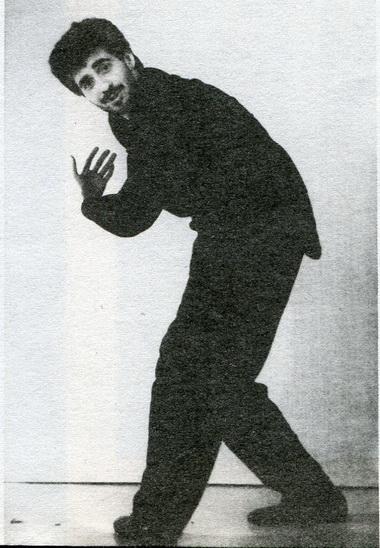 А.Баргман вспектакле «Душекружение». Фото В. Красикова