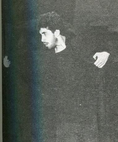 Г.Алимпиев (Лаэрт), Н.Ургант (Гертруда), А.Баргман (Клавдий). «Гамлет». Фото В. Красикова