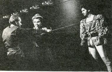 А.Баргман (Клавдий). «Гамлет». Фото В. Красикова