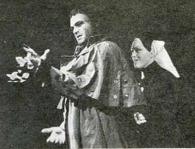 Г.Богачев (Макбет) иА.Фрейндлих (Леди Макбет). Фото Б. Стукалова