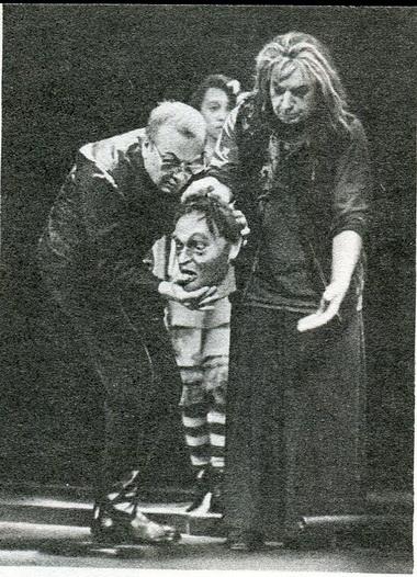А.Романцов (Сейтон) иГ.Штиль (Первая ведьма). Фото Б. Стукалова