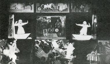 «Алиса вЗазеркалье». Сцена изспектакля. Фото изархива театра