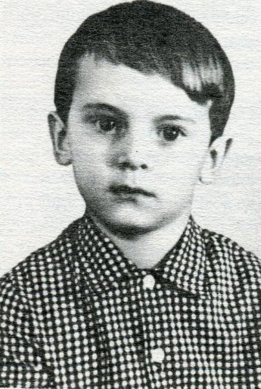 Дима Воробьёв ввозрасте 5лет. Фото изархива К.Воробьёва