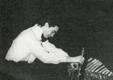Д.Воробьёв (Печерин). «Monsieur Жорж. Русская драма». Фото В. Красикова