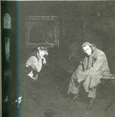 "О.Новикова вспектакле «Вендетта». Театр ""Приют комедианта. Фото Г. Павлова"